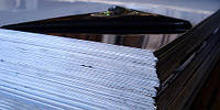 Лист нержавеющий 0,5х1000х2000мм AISI 304 (08Х18Н10) BA+PVC зеркальная поверхность, пищевой