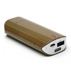 Универсальная мобильная батарея PowerPlant/ PB-LA9005/5200mAh/ универсальный кабель