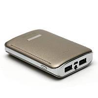 Универсальная мобильная батарея PowerPlant PB-LA9236/7800mAh/универсальный кабель