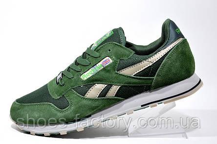 Кроссовки мужские Reebok Classic Leather, Premium Green, фото 2