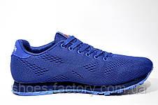Кроссовки мужские в стиле Reebok Custom Classic Leather, Blue, фото 3