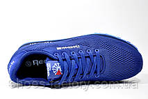 Кроссовки мужские в стиле Reebok Custom Classic Leather, Blue, фото 2