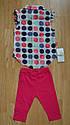 Дитячий літній комплект (блуза+бриджі трикотажні) для дівчинки (Maia, Туреччина), фото 2