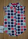 Дитячий літній комплект (блуза+бриджі трикотажні) для дівчинки (Maia, Туреччина), фото 3
