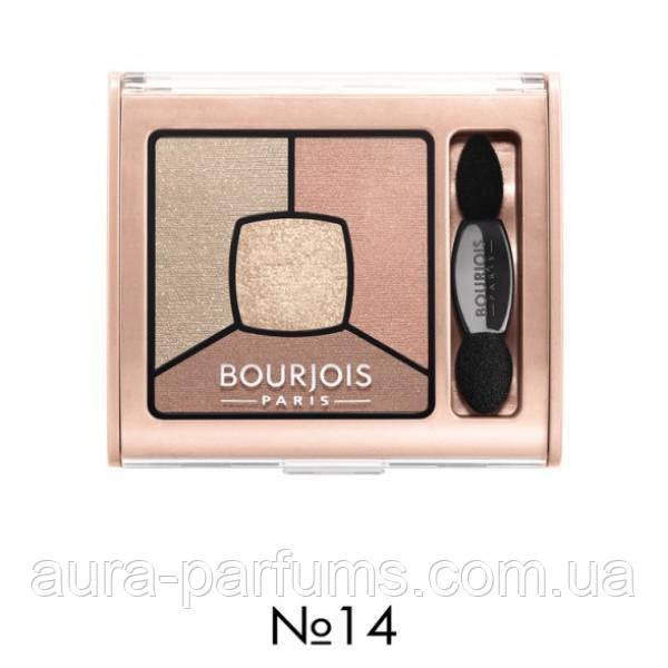 Bourjois Smoky Stories тени для глаз квадро 14 32 G продажа цена