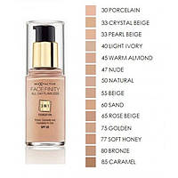 Max Factor Тональный крем 3в1 Facefinity All Day Flawless 3-in-1 Foundation SPF 20 30 ml. № 60 sand