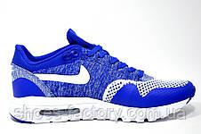 Кроссовки мужские в стиле Nike Air Max 1 Ultra Flyknit, Blue\White, фото 3