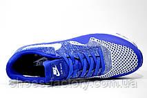Кроссовки мужские в стиле Nike Air Max 1 Ultra Flyknit, Blue\White, фото 2