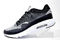Кроссовки мужские Nike Air Max 1 Ultra Flyknit, Gray\Black\White