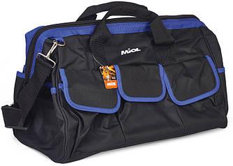Прочная и удобная сумка для инструментов из полиэстера, 18 карманов (91-018)