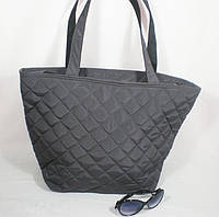 Практичная большая стеганая сумка