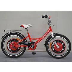 """Двухколесный велосипед детский PROFI 20"""" G2045, Original boy, красный"""