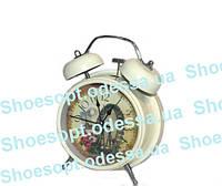 Оригинальные часы будильник в стиле Прованс
