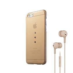 Комплект White Diamonds Bundle для Apple iPhone 6 золотистый