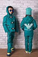 """Стильный весенне-осенний костюм детский """"Аrmani"""" № 888 е.в"""