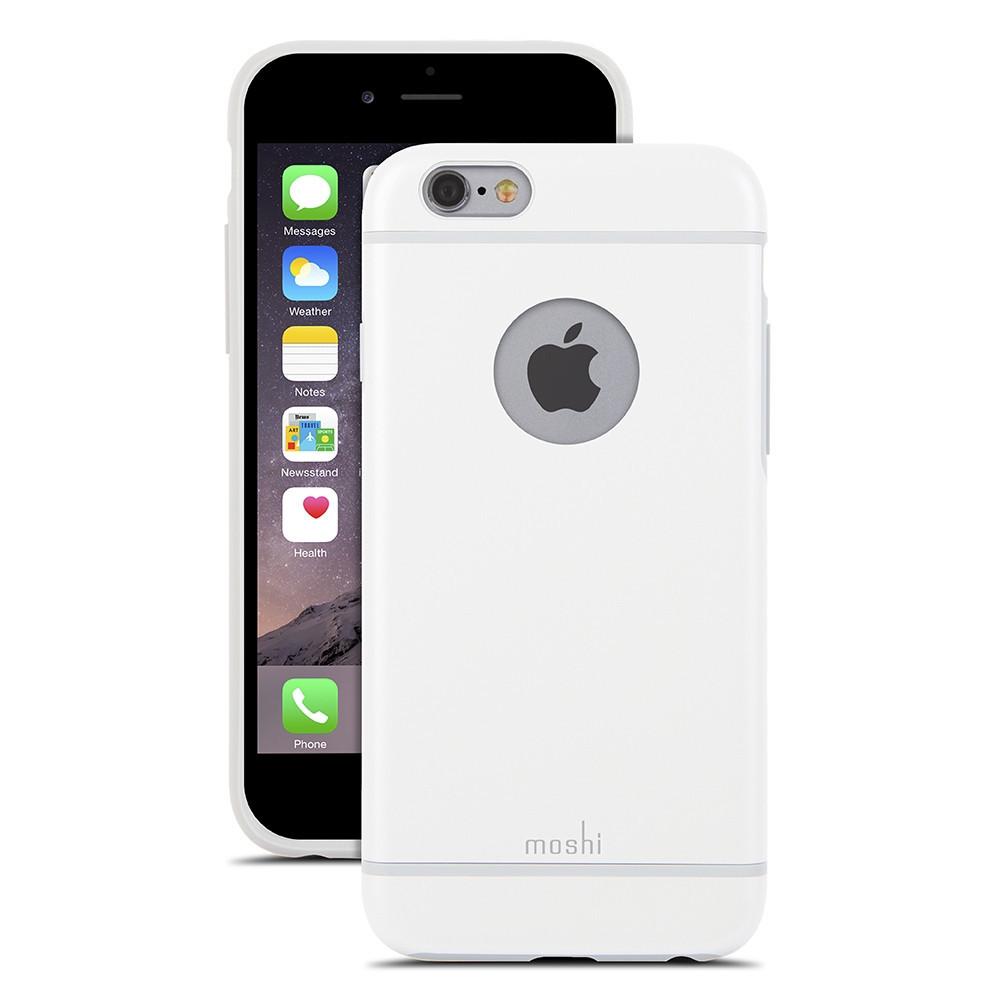 Чехол-накладка Moshi iGlaze для Apple iPhone 6 белый