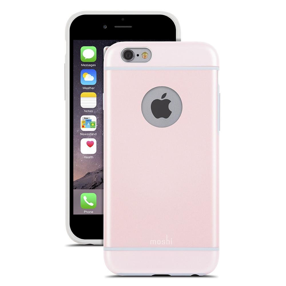 Чехол-накладка Moshi iGlaze для Apple iPhone 6 розовый