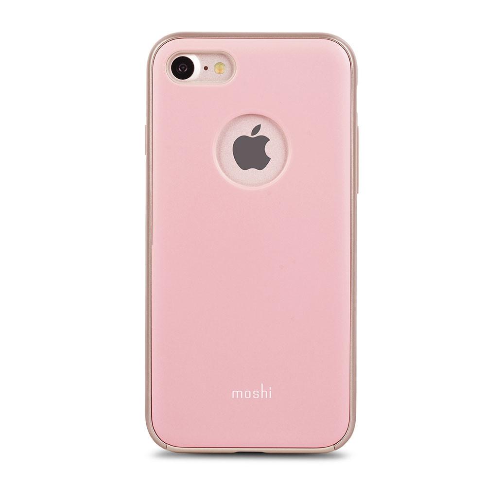 Чехол-накладка Moshi iGlaze для Apple iPhone 7 розовый