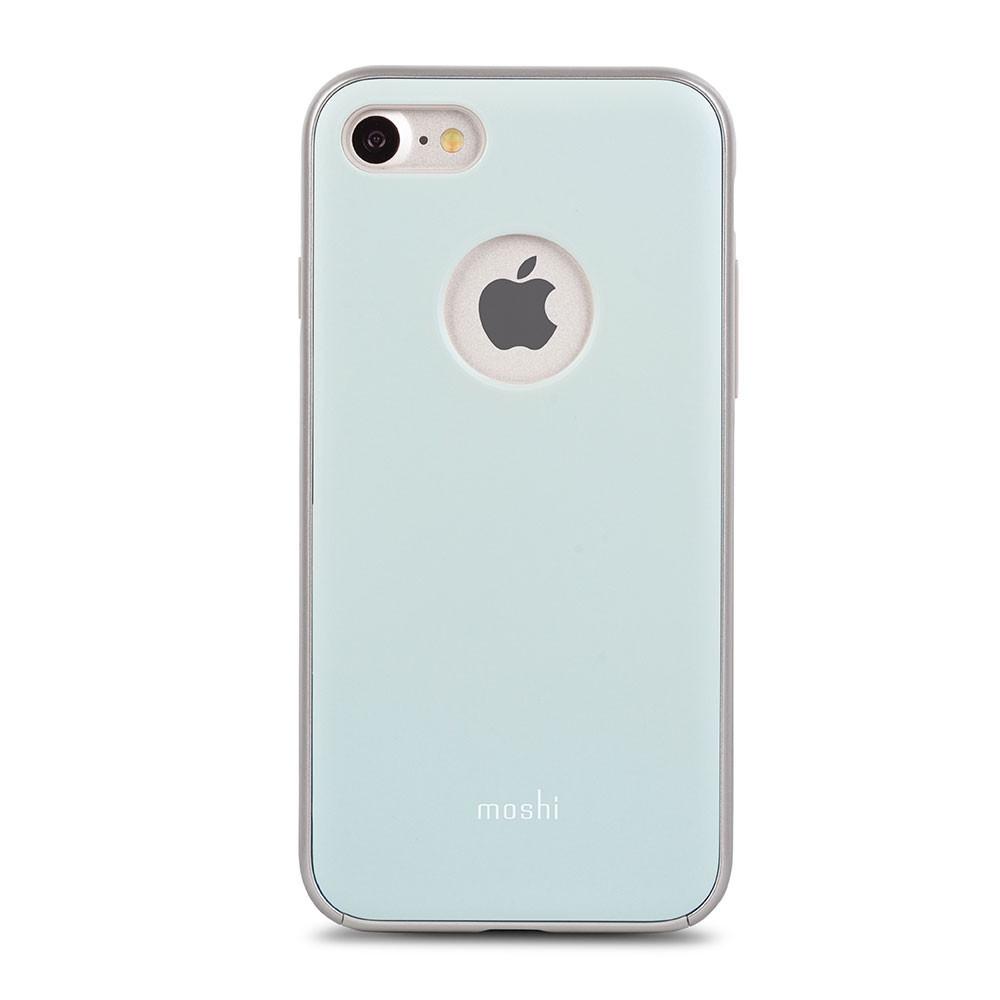 Чехол-накладка Moshi iGlaze для Apple iPhone 7 голубой
