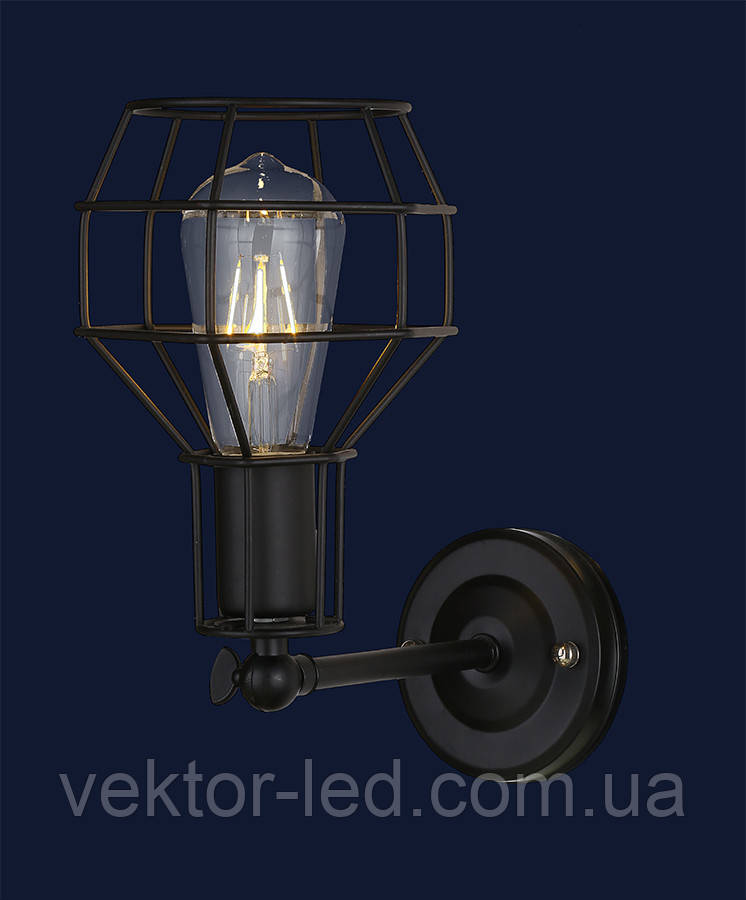 Светильник бра LOFT L07W116-1 BK