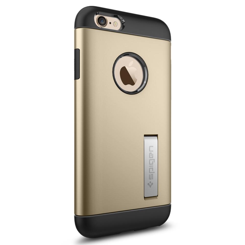 Чехол-накладка Spigen Slim Armor для Apple iPhone 6S/6 золотистый