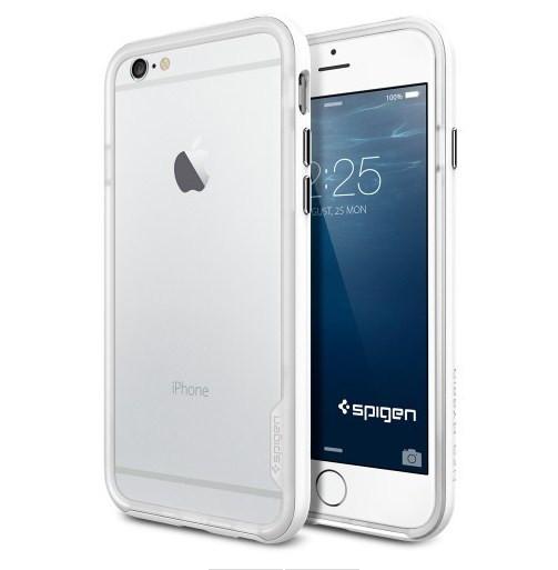 Чехол-бампер SGP Neo Hybrid EX для Apple iPhone 6 белый