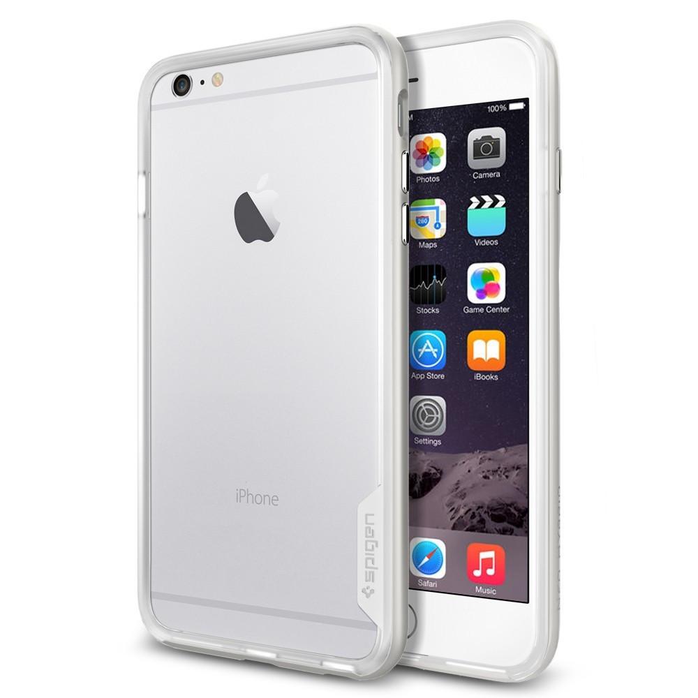 Чехол-бампер SGP Neo Hybrid EX для Apple iPhone 6 Plus серебристый