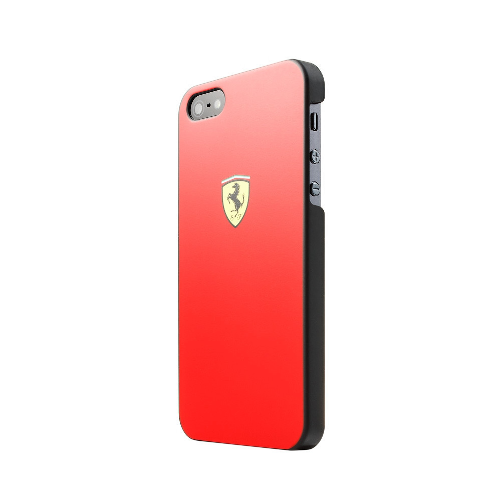 Чехол-накладка CG Mobile Ferrari Hard Case Scuderia для Apple iPhone 5S/5 красный