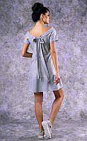 Женское короткое трикотажное платье Poliit №8360