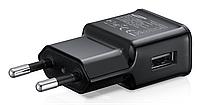 СЗУ блок питания 1 USB вход без надписей черное и белое