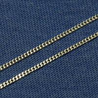 Серебряная цепочка Панцирная 1,5 мм 50 см 010043-б