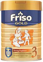 Friso Молочный напиток Фрисолак Gold 3, 400г 12м+