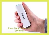 Power bank remax mini 2600mah