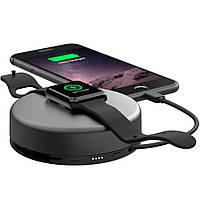 Зарядное устройство/дополнительный аккумулятор Nomad Pod Pro для Apple Watch/iPhone, Lightning. 6000 mAh, серое