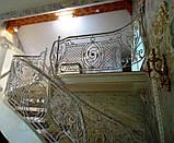 Кованые ограждения балконов, лестниц, террас, фото 2