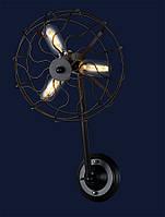 Светильник бра LOFT L07W148-3 BK
