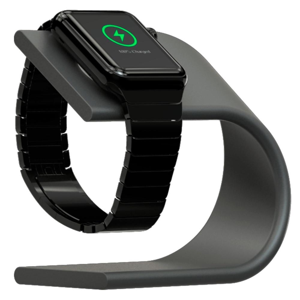 Подставка Nomad Stand для Apple Watch серая