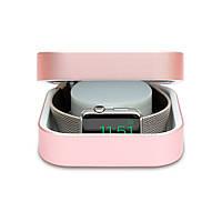 Дополнительный аккумулятор и кейс Amber для Apple Watch 3800 мАч, розовое золото