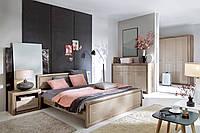 Спальня Koen 2 Black Red White, фото 1