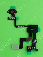 Шлейф кнопки включения iPhone 4S сенсора, датчика приближения Оригинал Китай