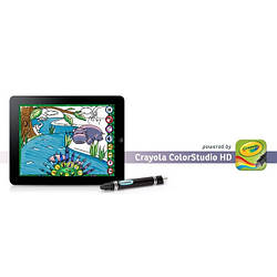 Стилус Griffin Crayola ColorStudio HD чёрный