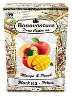 Чай Bonaventure Pekoe черный с персиком и манго 100 г.