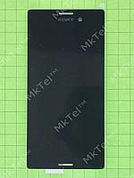 Дисплей Sony Xperia M4 Aqua Dual E2312 с сенсор. Оригинал Б/У Черный