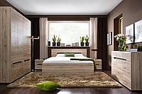 Спальня Elpasso Black Red White, фото 1