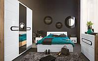 Спальня Byron Black Red White, фото 1