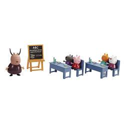 Игровой набор Peppa - ИДЕМ В ШКОЛУ (класс, 5 фигурок) (20827)