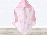Детский уголок-полотенце Irya Cloud розовый