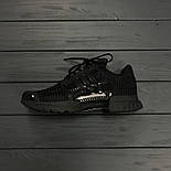Мужские кроссовки Adidas ClimaCool Black. Живое фото (Реплика ААА+), фото 10
