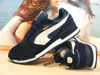Мужские кроссовки Puma RX 727 (пума) синие 44 р., фото 1
