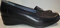 Туфли женские демисезонные p38-42 ELVIX 3116 натуральная кожа TONI